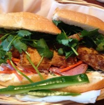 B-2 Grilled Meat Lemon Grass Sandwich